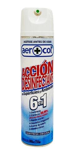 acción desinfectante 6 en 1 aerosol x 1 - ciudad cotillón
