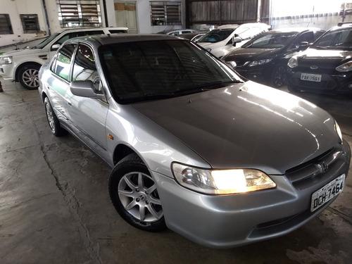 accord sedan ex at 2.3 16v 2000 - aceito cartão