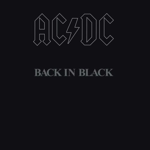 ac/dc cd back in black original nuevo