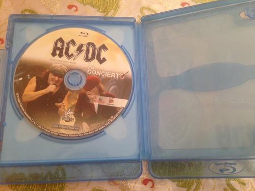 ac/dc en concierto  blu-ray