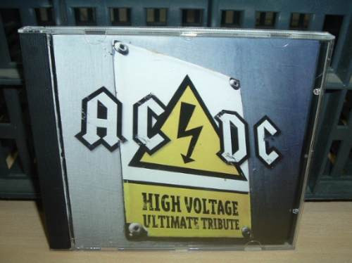 ac/dc high voltage ultimate tribute cd argentino