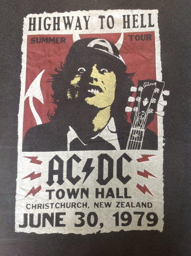 ac/dc - highway to hell poster (produto oficial)