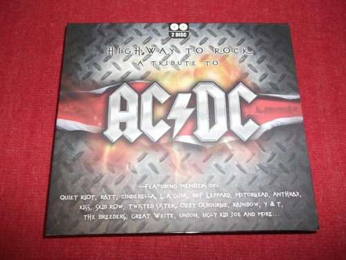 ac/dc - highway to rock tribute cd doble nac ed 2008 mdisk