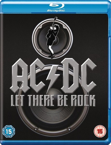 ac/dc let there be rock  bluray import original nuevo stock