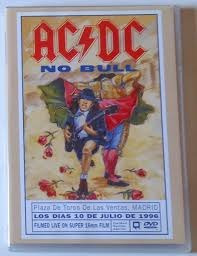 ac/dc no bull live - plaza de toros, madrid dvd