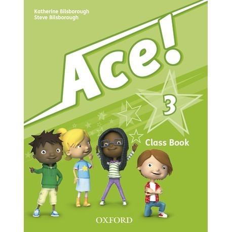 ace ! 3 - class book - oxford