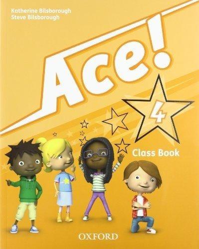 ace ! 4 - class book - oxford
