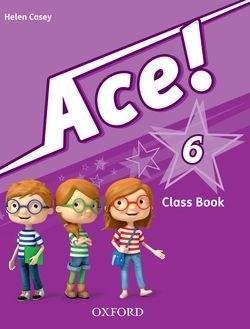 ace ! 6 class book  + cd -  oxford