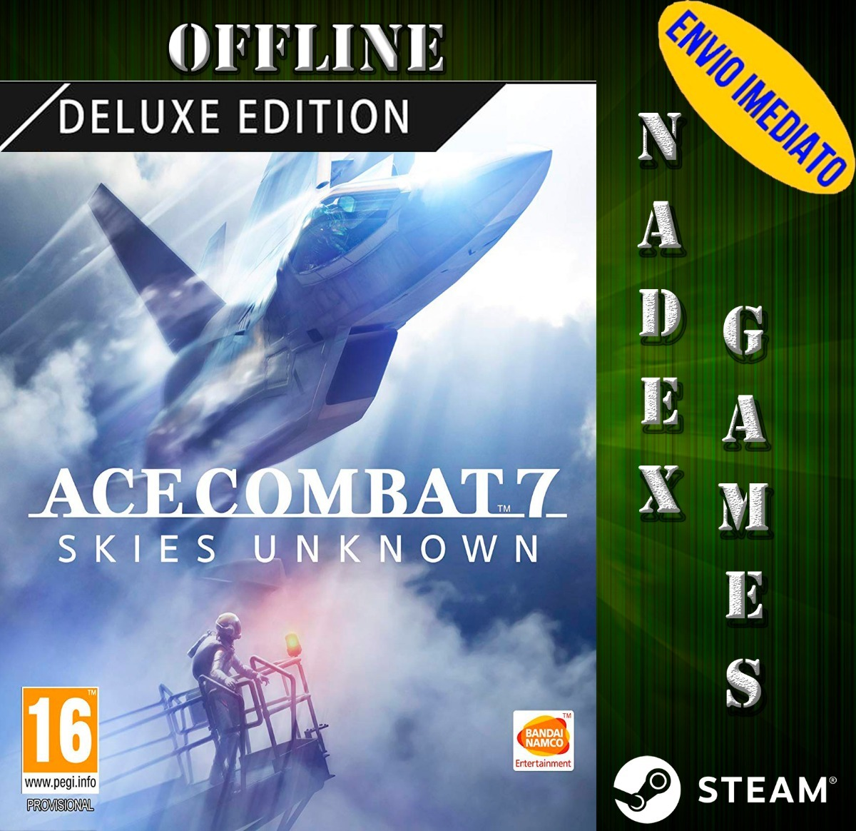 Ace Combat 7: Skies Unknown   Deluxe Edition   Pc   Steam  