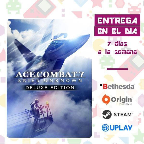 Ace Combat 7 Skies Unknown Deluxe Pc Original Online