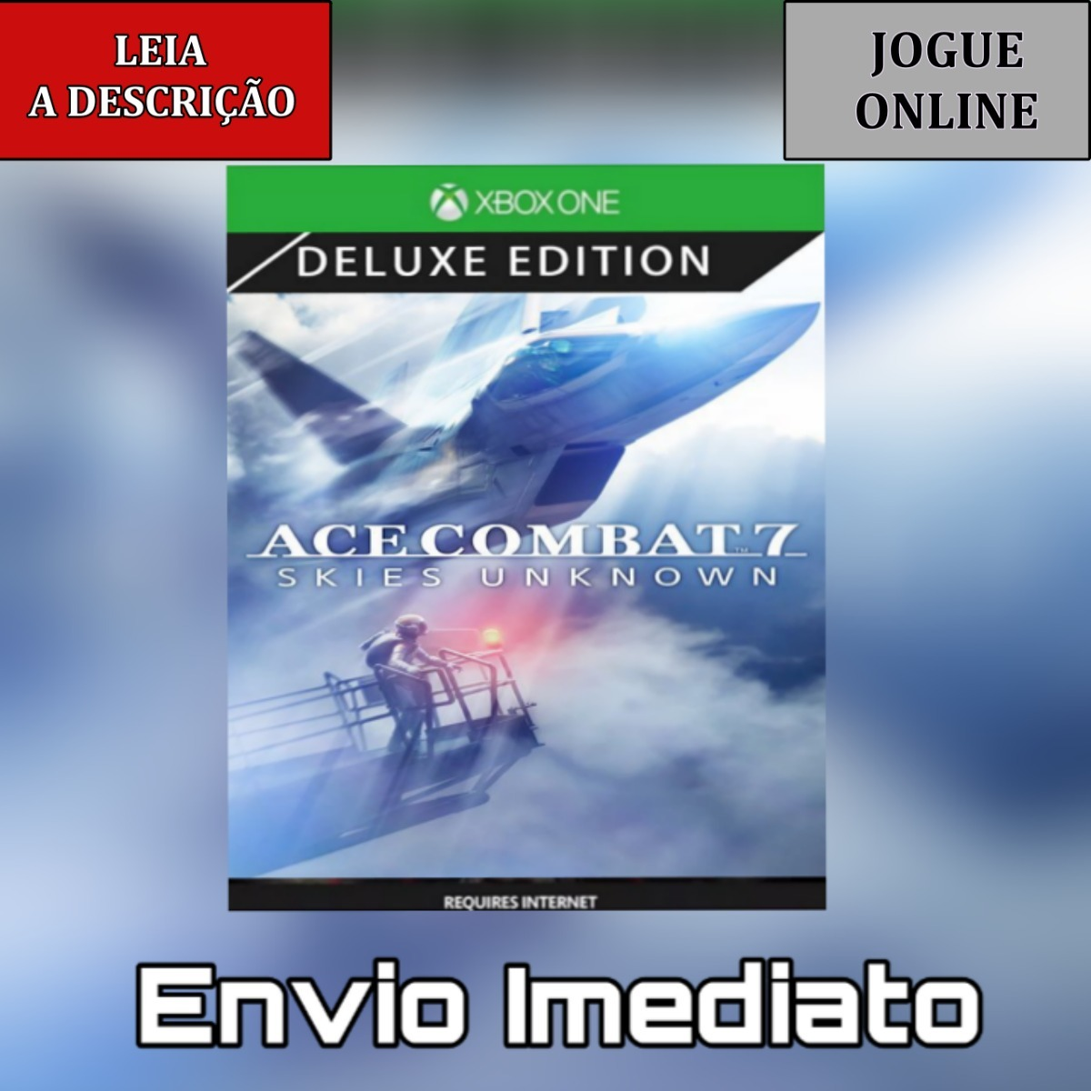Ace Combat 7 Skies Unknown Deluxe Xbox One- Digital - Online
