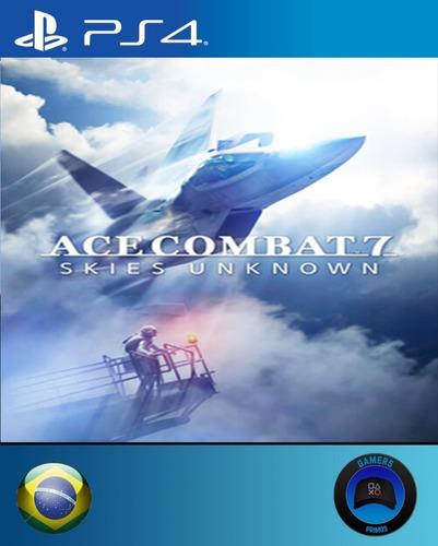 ace combat 7 skies unknown ps4 português