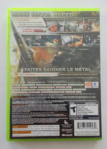 ace combat assault horizon xbox 360 garantizado :)