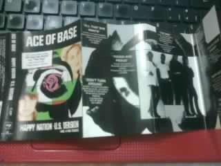 ace of base, happy nation cassette, usado vbf