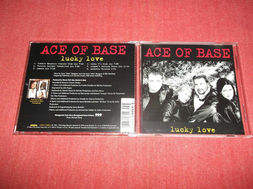 ace of base - lucky love cd ep usa ed 1996 mdisk