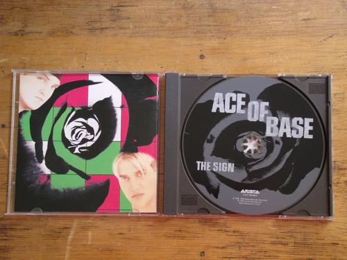 ace of base - the sign - cd, edição 1992 - importado