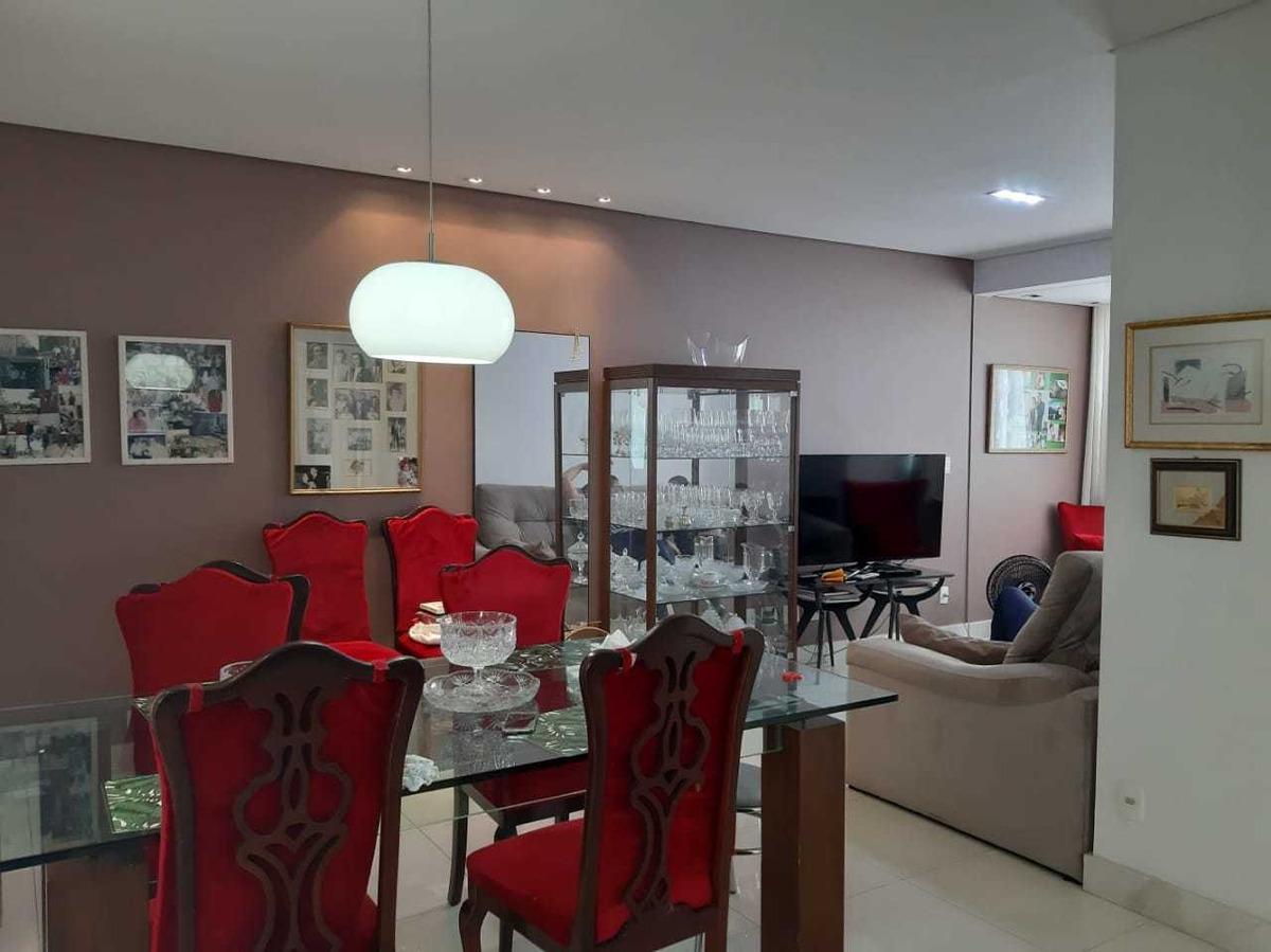 aceita permuta por apto. de menor valor na região centro-sul. apartamento com 3 quartos, vista panorâmica e lazer completo no buritis - 4984