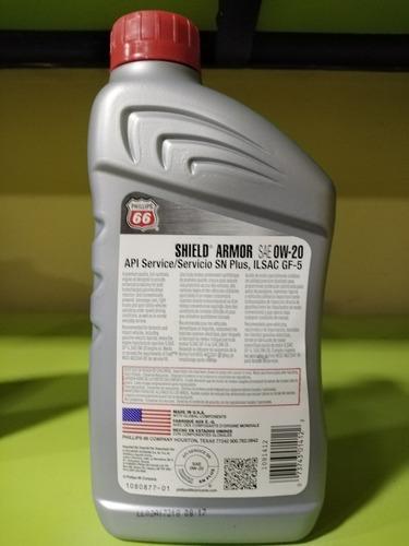 aceite 0w20 y 5w20 sintético phillips 66