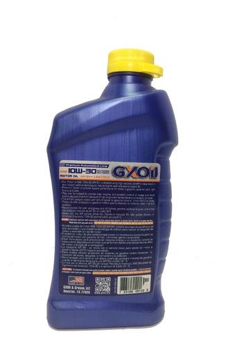 aceite 10w-30 semi- sintetico 946ml gxoil