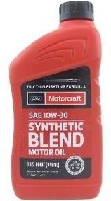 aceite 10w30 semisintetico motorcraft 5 c/u o 60 la caja