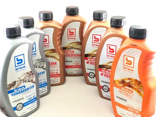 aceite 15w-40 semisintetico brava api sn importado