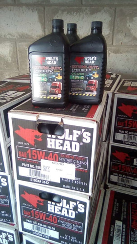 aceite 15w-40 wolf's head extreme duty semi synthetic