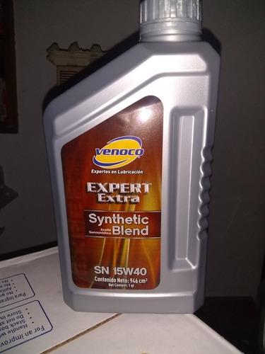 aceite 15w40 semi sintético marca venoco importado