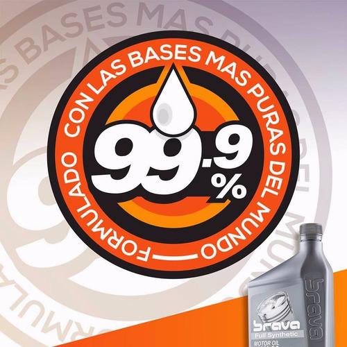 aceite 15w40 semisintetico ci-4/sl brava lubricant importado