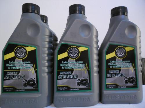 aceite 2 tiempo aire sellados por litros power oil
