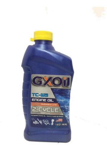 aceite  2 tiempos fuera de borda mineral 946ml gxoil
