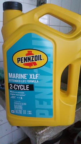 aceite 2 tiempos fuera de borda semi-sintético pennzoil