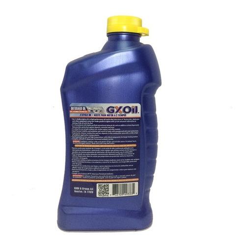 aceite 2 tiempos multipropósito tc-w  946ml gxoil