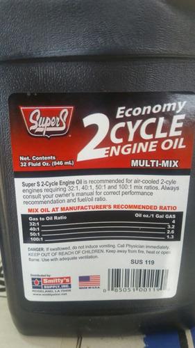 aceite 2 tiempos super s