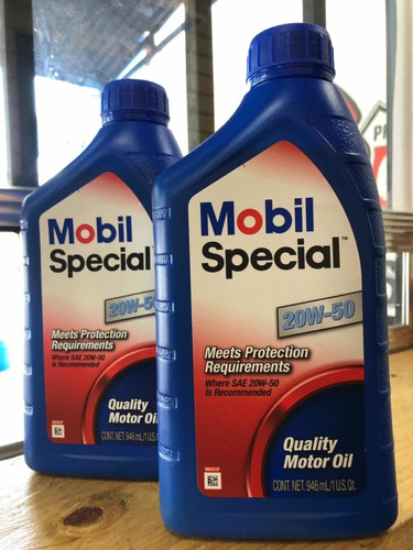 aceite 20w-50 mineral marca mobil