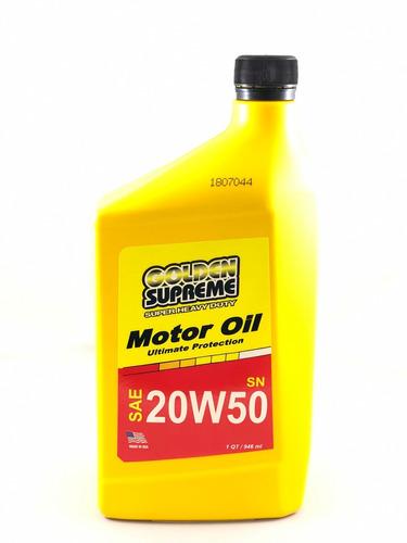 aceite 20w50 mineral golden supreme importado