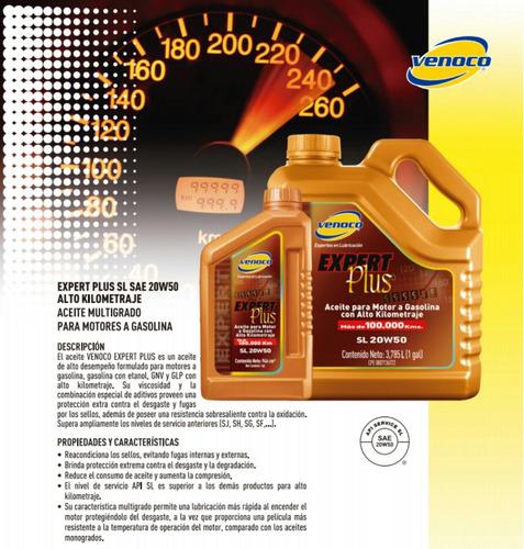 aceite 20w50 mineral venoco