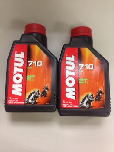 aceite 2t motul precio por c/u