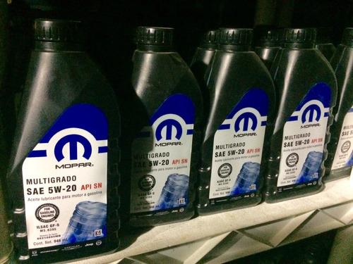 aceite 5w20 mopar nuevos originales