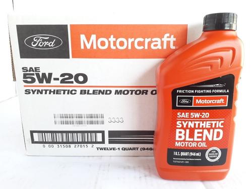 aceite 5w20 semisintetico motorcraft 50 la caja - 5 al detal