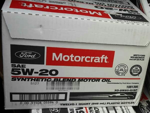 aceite 5w20 semisintetico motorcraft explorer 2011 ford (55)
