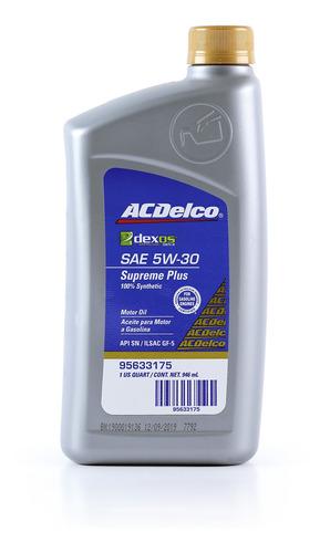 aceite 5w30 dexos supreme plus
