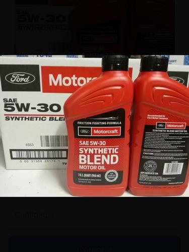aceite 5w30 semi sintético motorcraft