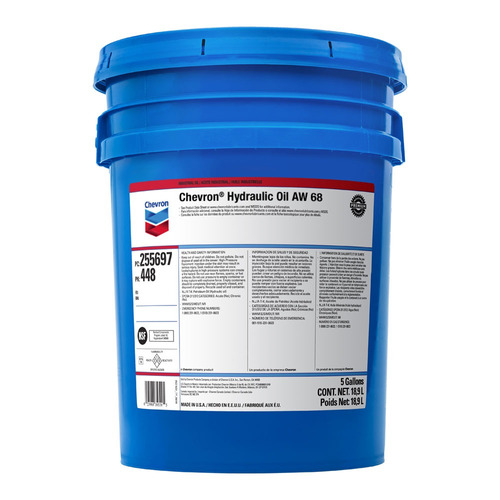 aceite 68 hidráulico texaco americano 18.93 lts envios