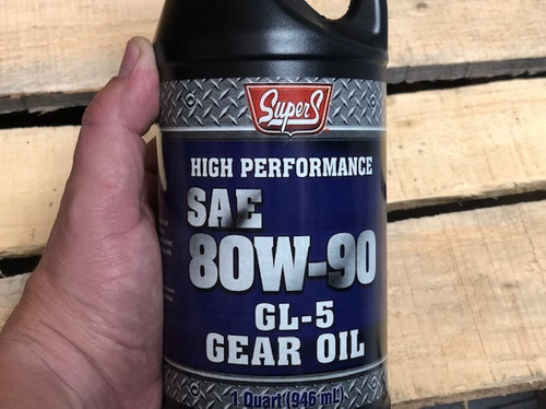aceite 80w-90 valvulina hecho usa somos tienda  5usd
