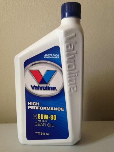 aceite 80w90 gl-5 valvoline