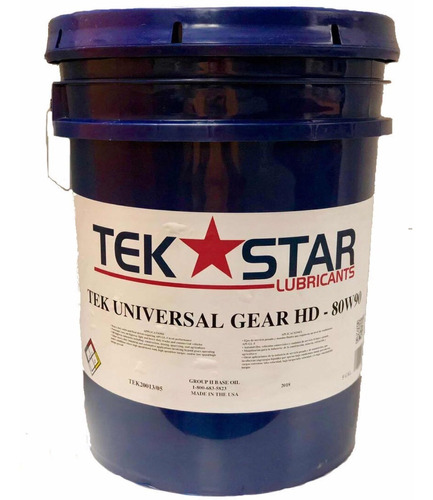 aceite 80w90 por paila tek star