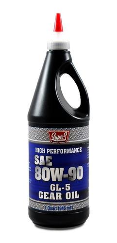 aceite 80w90 valvulina gl5 supers importado