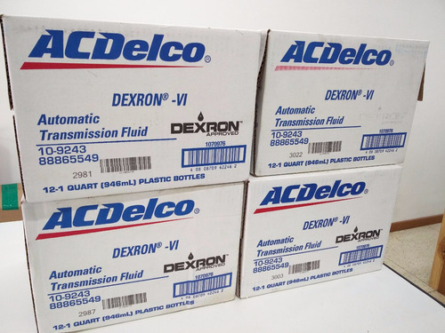 aceite acdelco dexron 6 (vi)