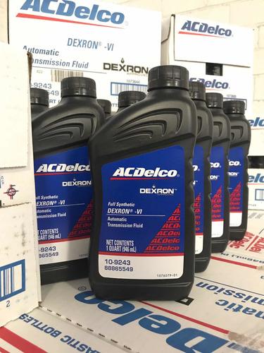 aceite acdelco dexron 6 (vi)  original