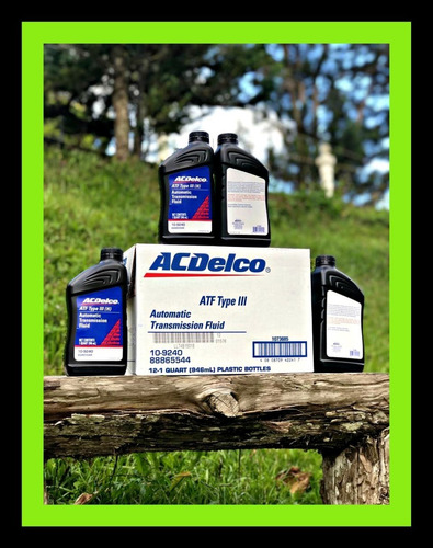 aceite acedelco dexron3 iii transmision automatica